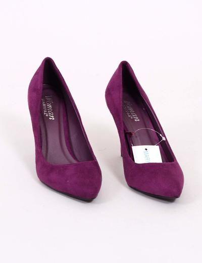 Marypaz Zapato morado efecto ante 2.99€