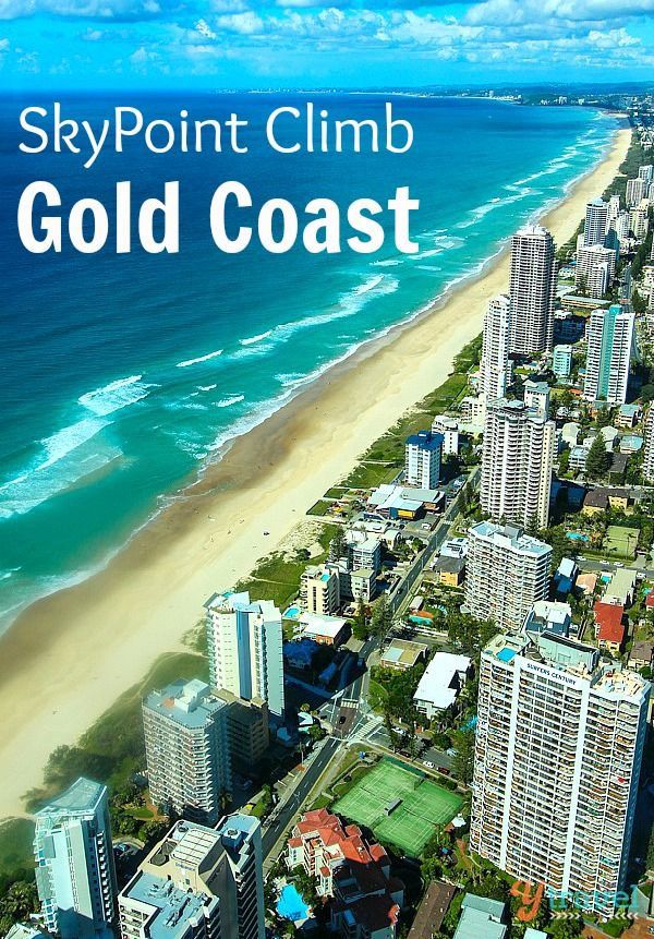 Climb to the top of the Q1 building on the Gold Coast, Queensland, Australia for awesome views.
