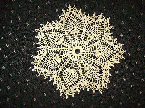 Ravelry Vintage Crochet Pineapple Doily Wc1717 Pattern By