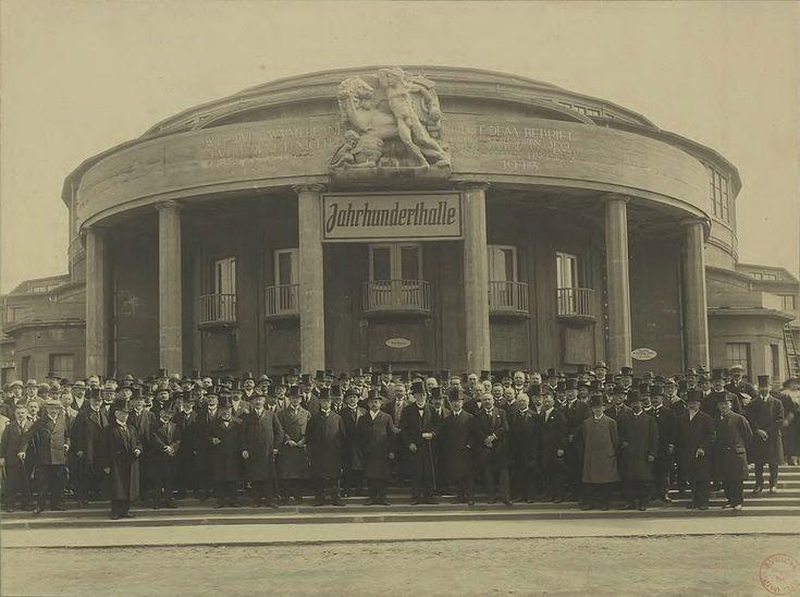Hala Stulecia - uroczyste otwarcie.1913 r.