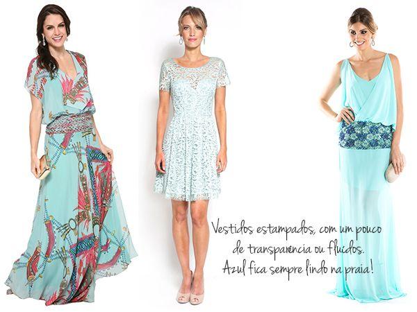 O que usar em casamento na praia | Madrinhas e Convidadas | Vestida de Noiva | Blog de Casamento por Fernanda Floret