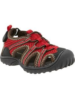 Best shoes for toddler boys, keep going back to these every year. Trek Shoes by Old Navy