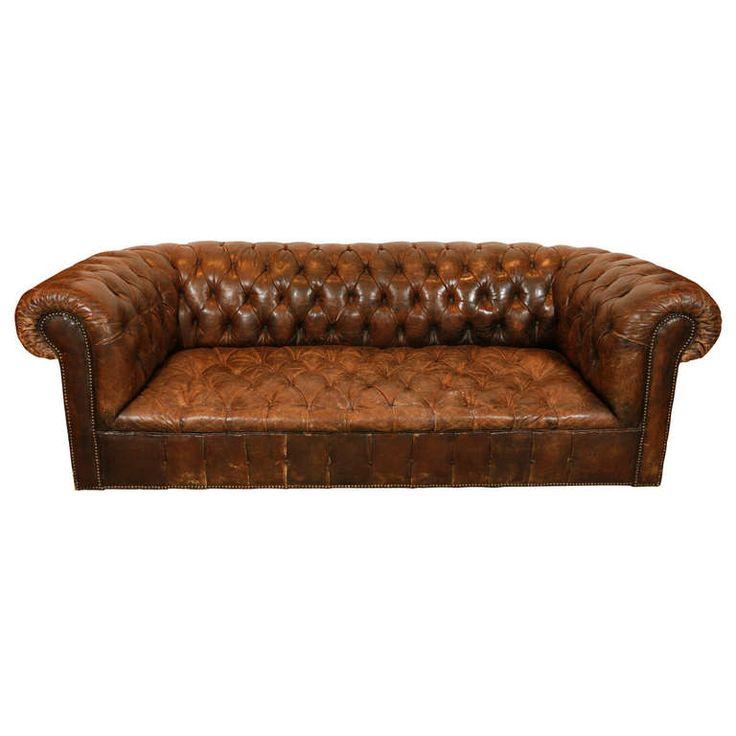 Die besten 25+ Club sofa Ideen auf Pinterest Haus hamburg - chesterfield sofa holz modern