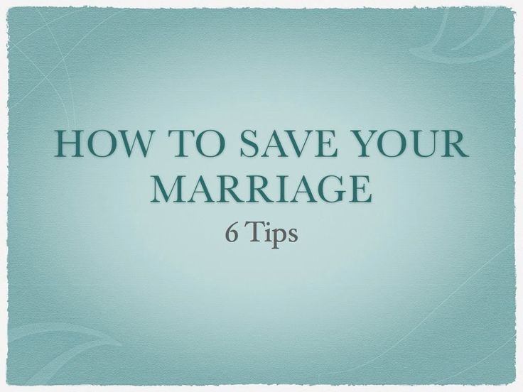 How to Save My Marriage: 6 Tips on Fixing Your Marriage - WATCH VIDEO HERE -> http://bestdivorce.solutions/how-to-save-my-marriage-6-tips-on-fixing-your-marriage   	 SAVE YOUR MARRIAGE STARTING TODAY (Click for more info…)   – » Ways to Save Your Marriage Marriage Therapy How to Fix Your Marriage How to fix my marriage Marriage counseling job Online Marriage Counseling How to Save a Marriage from Divorce How to save a Marraige How can I...