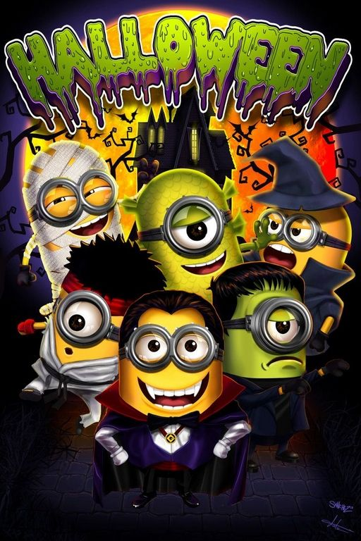 Cute Halloween Minions Funny Images (04:41:22 PM, Friday 30,