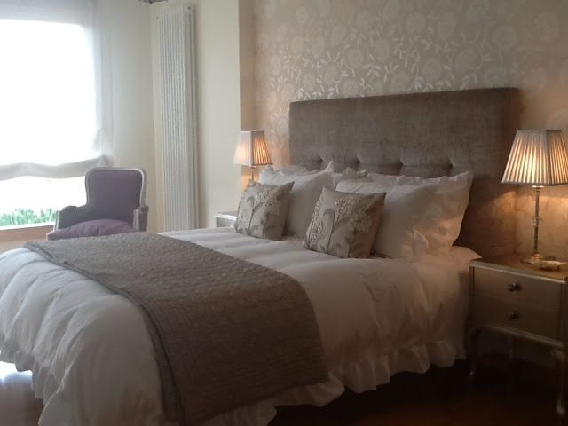 13 best cabeceros tapizados images on pinterest bedrooms - Laura ashley madrid ...
