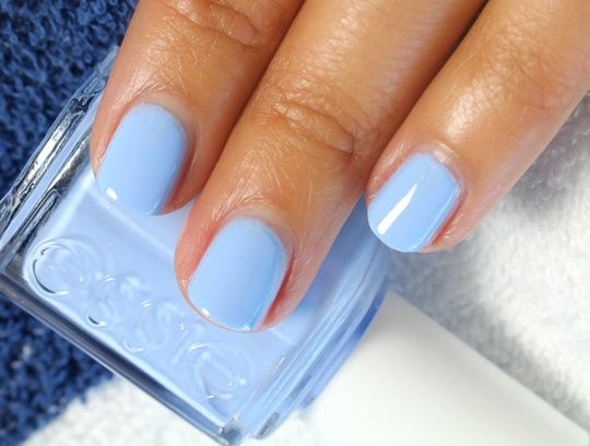 the perfect blue hue.