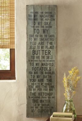 countrydoor.com  Through the Country Door Catalog  You're the Cheese Large Plaque  Save 19% $99.00  $79.99
