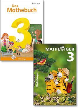 """Lehrwerke """"Das Mathebuch 3"""" und """"Mathetiger 3"""""""