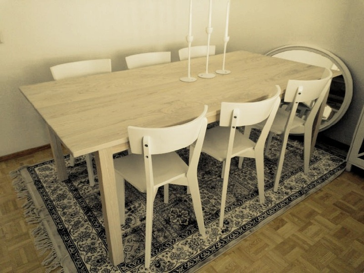 Our new Scandinavian Ash dinner table