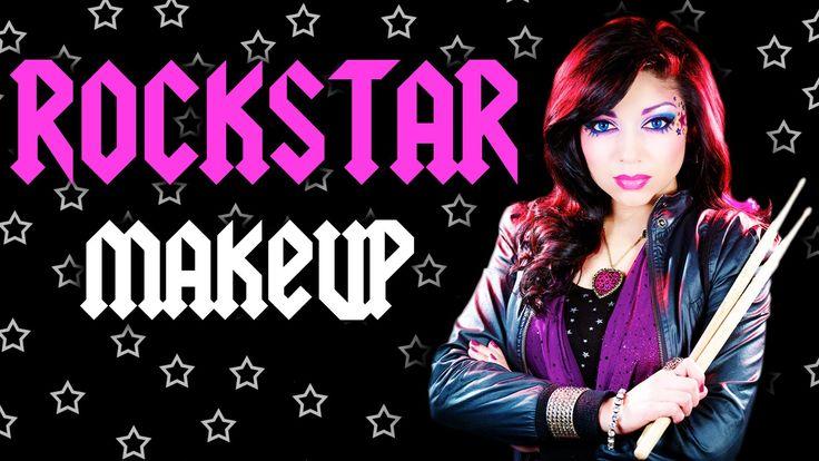 Rock Star Makeup Tutorial (NYX FACE Awards) (+playlist)