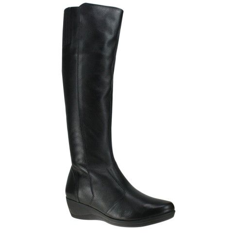 Bota Usaflex U0804 - Preto (Caprina) - Calçados Online Sandálias, Sapatos e Botas Femininas | Katy.com.br