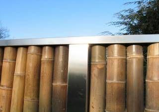 Stunning Bambus Zaunelemente moderner Sichtschutz u Anbieterinfo