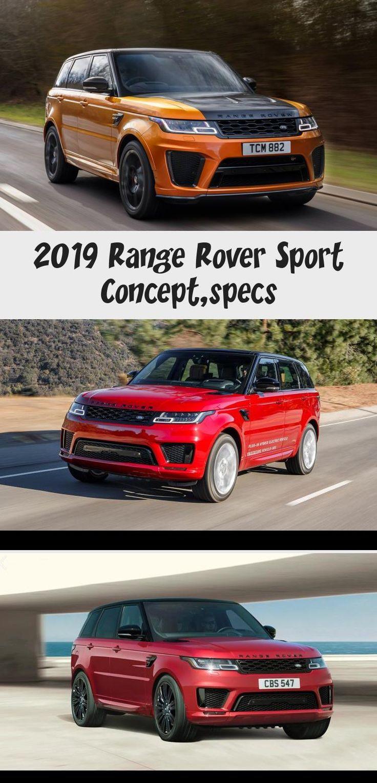 2019 Range Rover Sport Concept,specs in 2020 Range rover