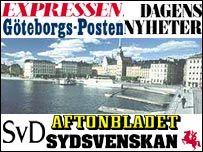 Swedish press graphic