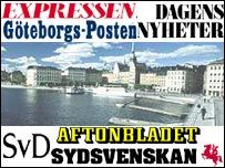 Swedish press graphic