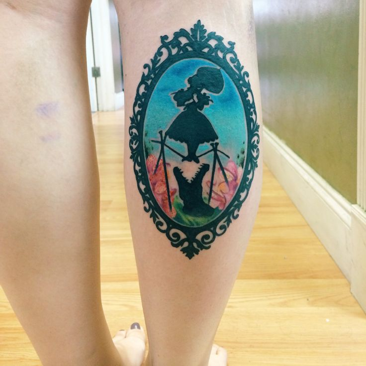 Disney The Haunted Mansion tattoo by Chris Blinston at No Hard Feelings Coral Springs, FL