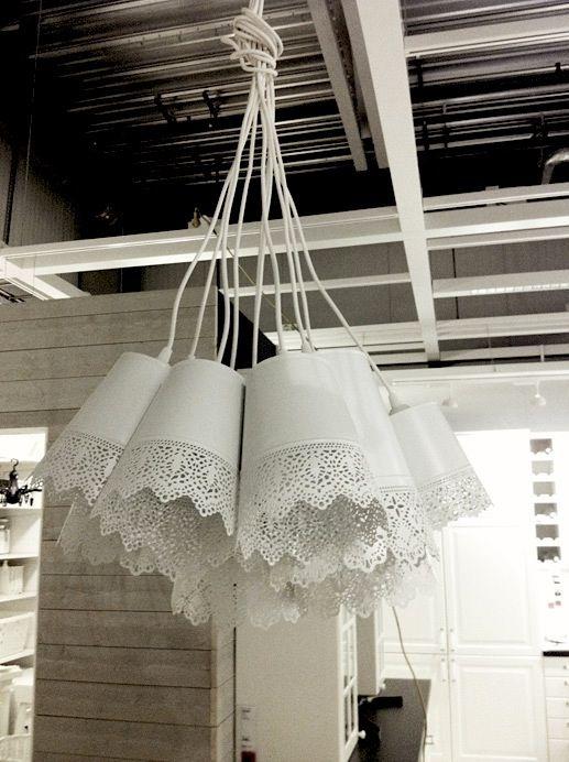 CREATIVE LIVING - where Scandinavian Interior Design meet International Trends: DIY: trendy pendant made of Ikea flower pots!
