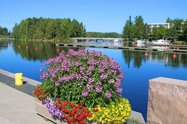 Savonlinna, my beautiful home town.