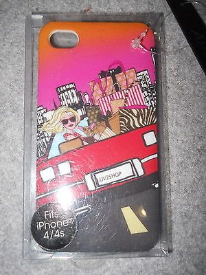 Apt. 9 Luv 2 Shop iPhone 4/4S Cell Phone Hard Case Girl In Car Brand New   eBay