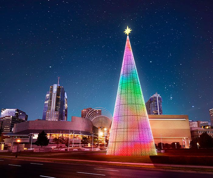 The Mile High Tree Colorado Homes Lifestyles In 2020 Denver Christmas Lights Downtown Denver Holidays And Events