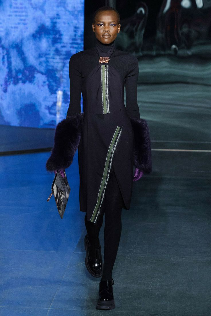 Kenzo, Fall 2014 RTW, wanting this to be faux fur, Kenzo usually use faux