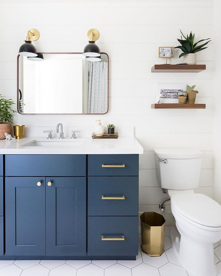 Now on the blog, this super cute kids bathroom remodel over at #CamarilloRanchRe…   – Second Bath