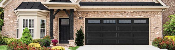 Best 25 Black Garage Doors Ideas On Pinterest
