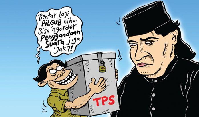 Kartun Politik Mice Cartoon - Oktober 2016: Penggandaan Suara