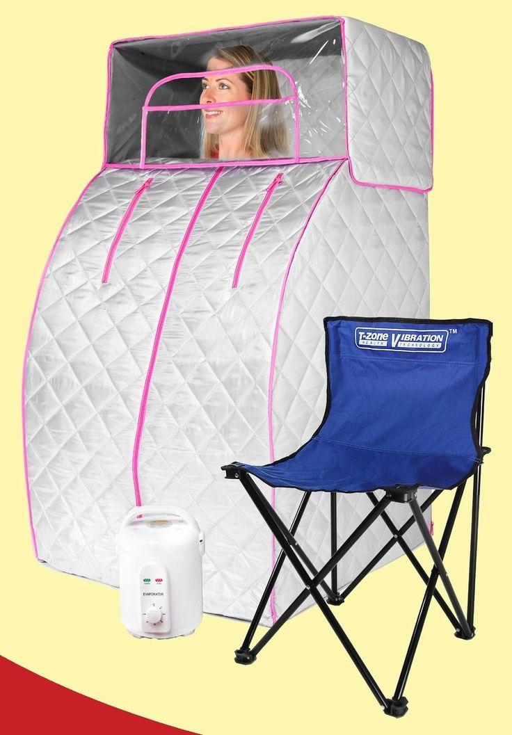 T Zone VT 1 Portable Steam Sauna | eBay