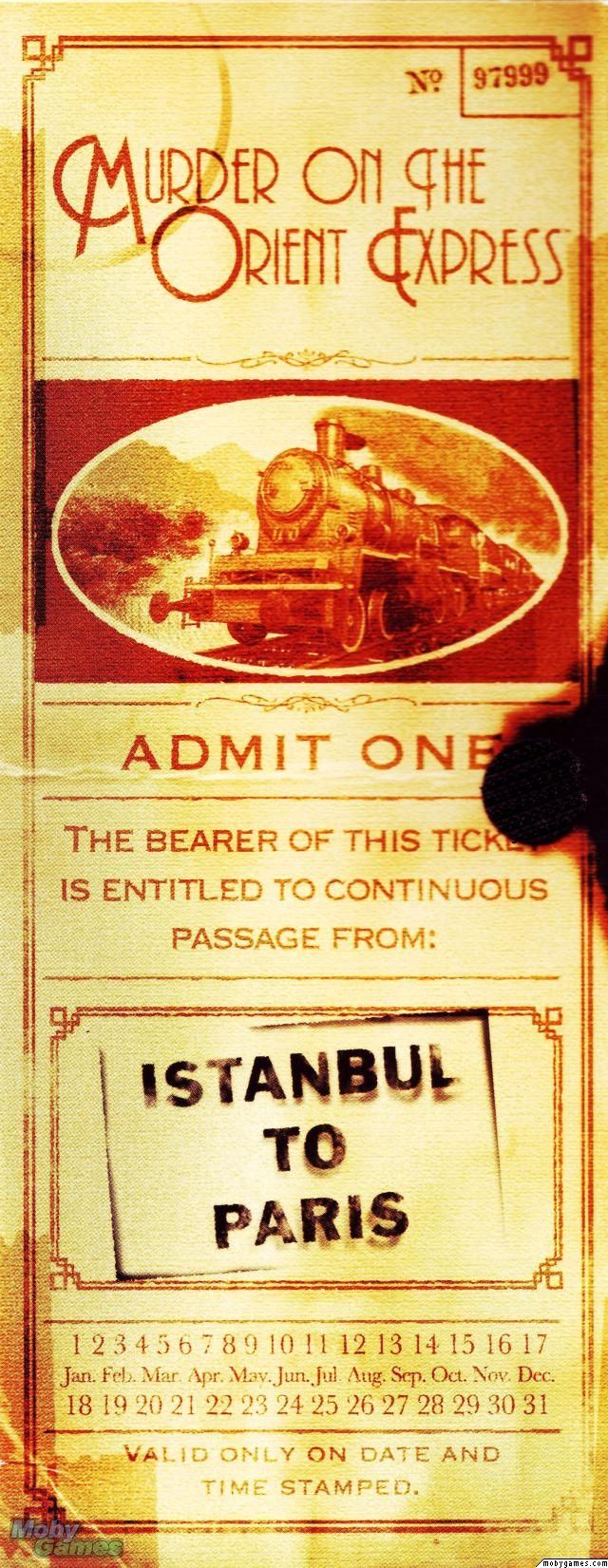 I bought this book on our trip from Venice to Paris on the Orient Express! awesome memories.