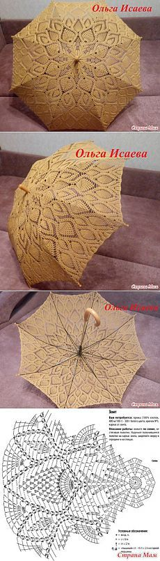 Мой новый зонтик - Вязание - Страна Мам