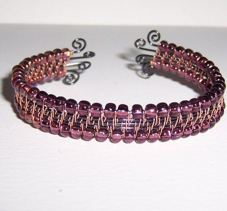 188 best Wire Woven Cuff Bracelets images on Pinterest | Wire ...