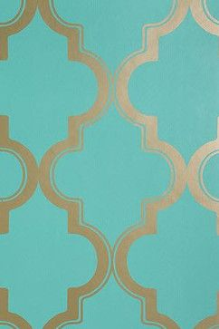 Marrakesh Honey Wallpaper - mediterranean - wallpaper - Urban Outfitters