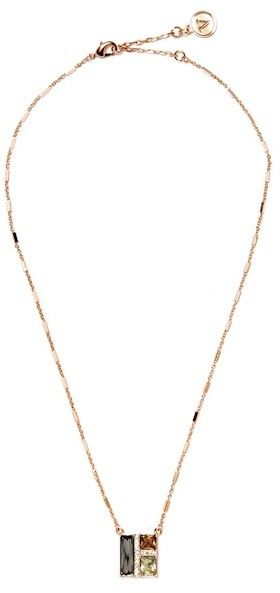 Vince Camuto Faceted Crystal Pendant Necklace