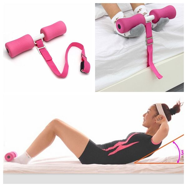 Sit Ups Abdominal Exerciser Belly Waist Slimming Fitness Training Equipment