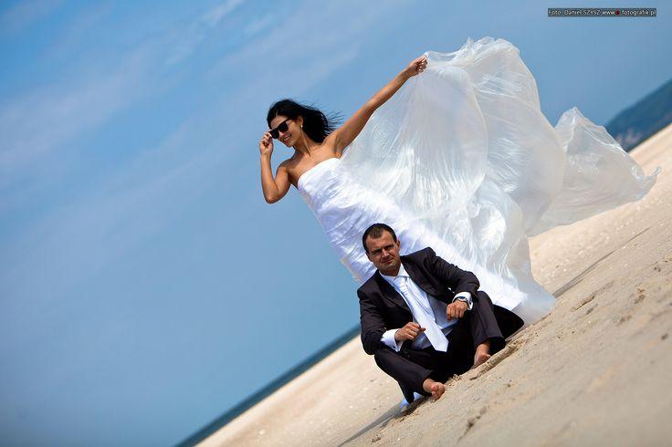 Najlepsze zdjęcia – sesja ślubna na plaży