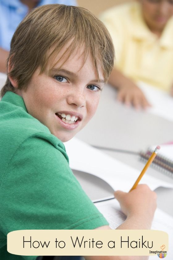 Guyku - Haiku for boys. Teach Your Child How to Write a Haiku