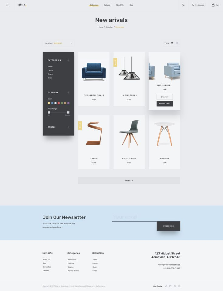 Dribbble - stile-v.1-product-list.jpg by Dalibor Hajdinjak