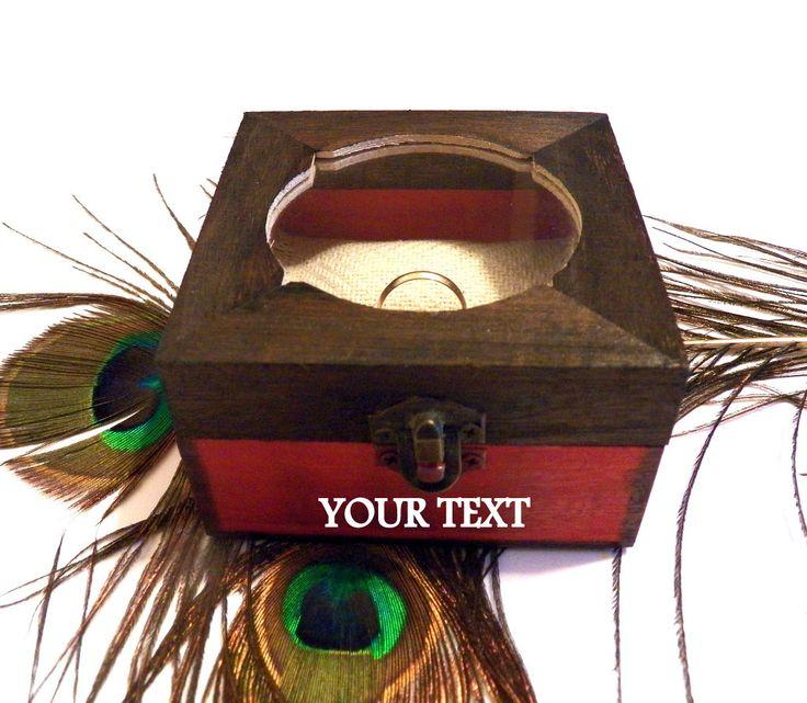 Ring Pillow, Personalized Jewelry, Wedding Ring Holder, Custom Ring Box, Personalized Ring Stand, Engagement Ring Holder, Ring Bearer Box - https://www.etsy.com/listing/242623426/ring-pillow-personalized-jewelry-wedding?utm_source=socialpilotco&utm_medium=api&utm_campaign=api #jewelry
