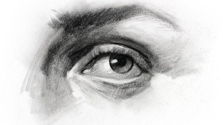 eyes drawing tutorial