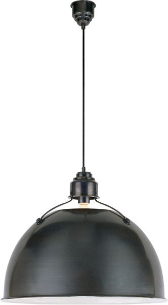 Shop for visual comfort tob thomas obrien modern eugene large pendant in antique nickel at foundry lighting