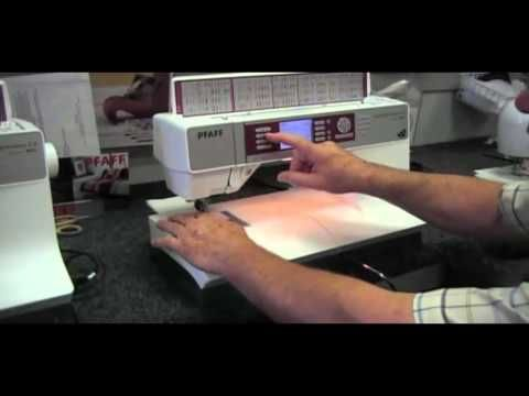 PFAFF Quilt Expression 4.0 Memphis Sewing Machine - YouTube
