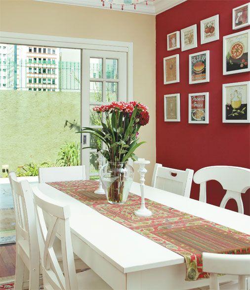 Minha futura parede vermelha