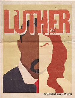 MINIMALIST ART - BBC Luther