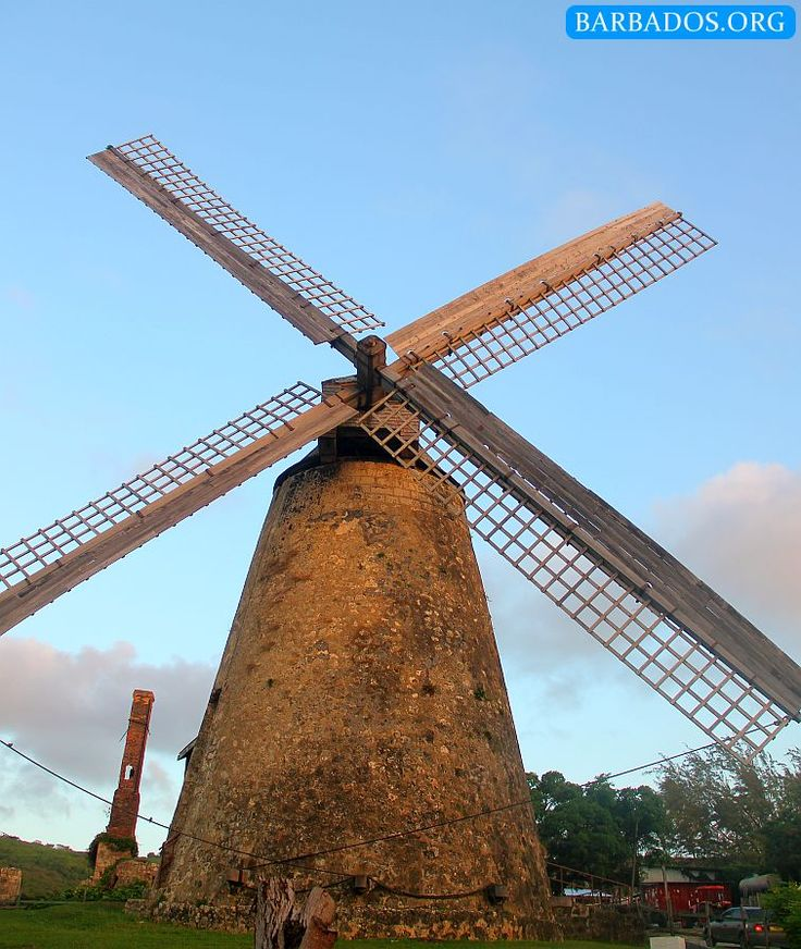 This historic windmill is a favourite stop on many Barbados tours