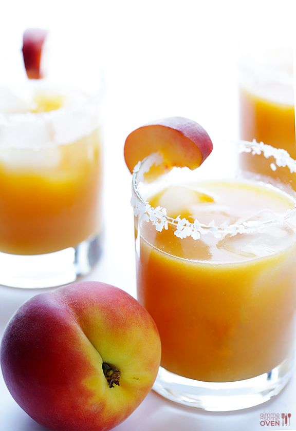 Fresh Peach Margarita: Peach Margarita Recipes, Fresh Peach, Peach Margaritas, Peach Margaria, Drink Recipe, Gimmesomeoven Com Cocktail, Peaches