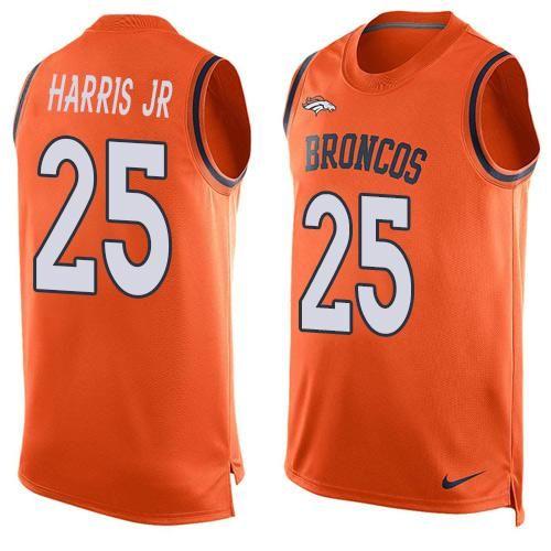 25dde6fed ... Super Bowl XLVIII Home Jersey - Nike 32 Denver Broncos Broncos 25 Chris  Harris Jr Orange Team Color Mens Stitched NFL Limited Tank Top Jersey ...