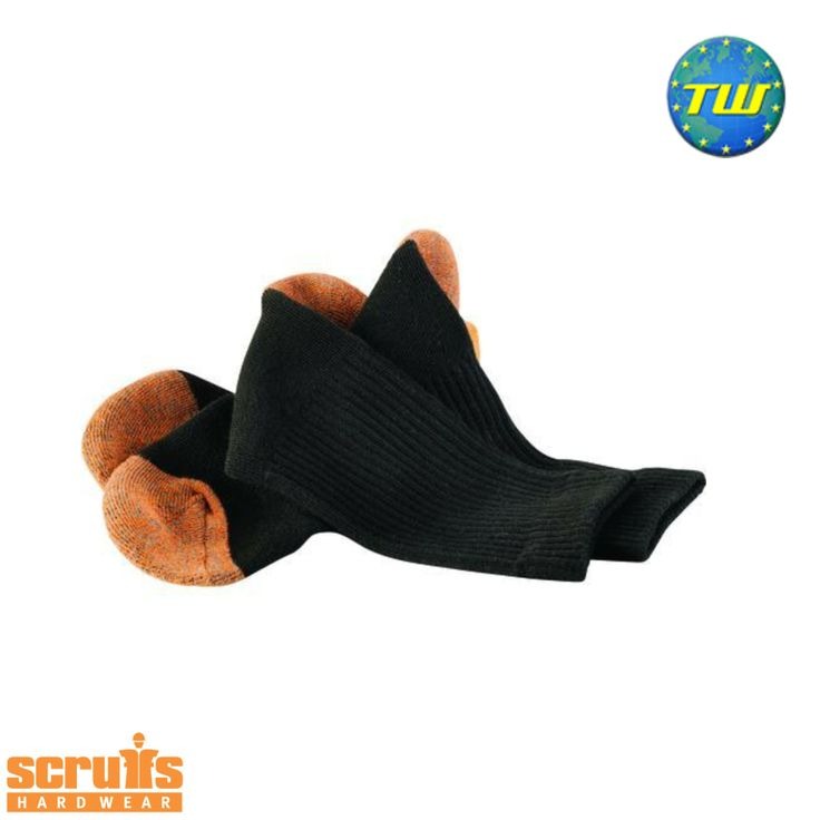 http://www.twwholesale.co.uk/product.php/section/10257/sn/Scruffs-Socks-T50983 Scruffs Worker Socks have an internal cushioned lining for warmth and comfort. Supplied in a 3 pack, Scruffs socks have reinforced heels and toes to ensure maximum durability.