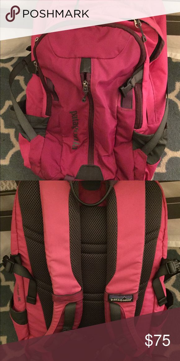 Patagonia backpack This backpack is lightly used, like new! It has a laptop compartment inside, water bottle pockets on the sides, and many organizational pockets inside. This versatile backpack is perfect for class, hiking or travel! Patagonia Bags Backpacks